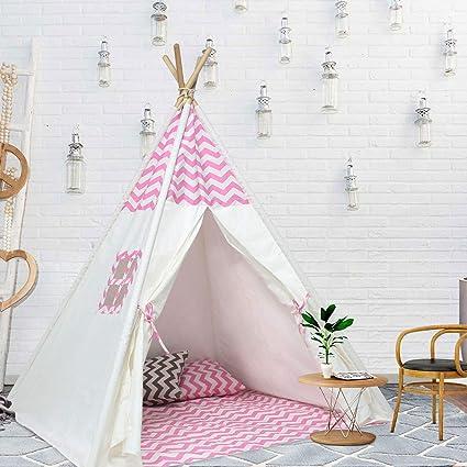 Amazon.com: UKadou Girls Teepee Tent for Girls Room -Little Baby ...