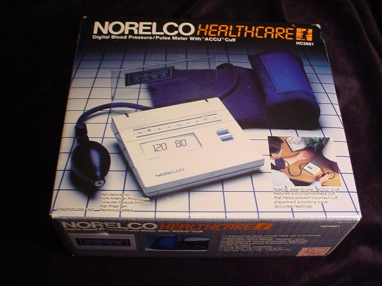 Amazon.com : Norelco Healthcare HC3001 Digital Blood Pressure/Pulse Meter : Automatic Blood Pressure Monitors : Beauty