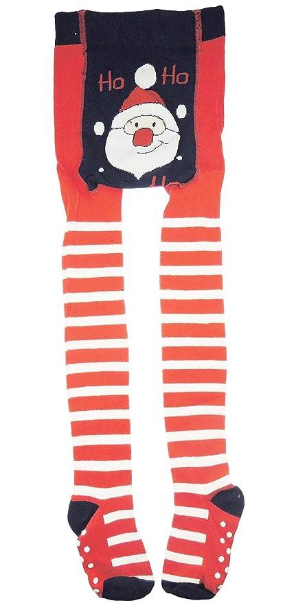 stile romanzo classico Nuova Collant natalizi per neonate, super carini, in cotone rosso ...