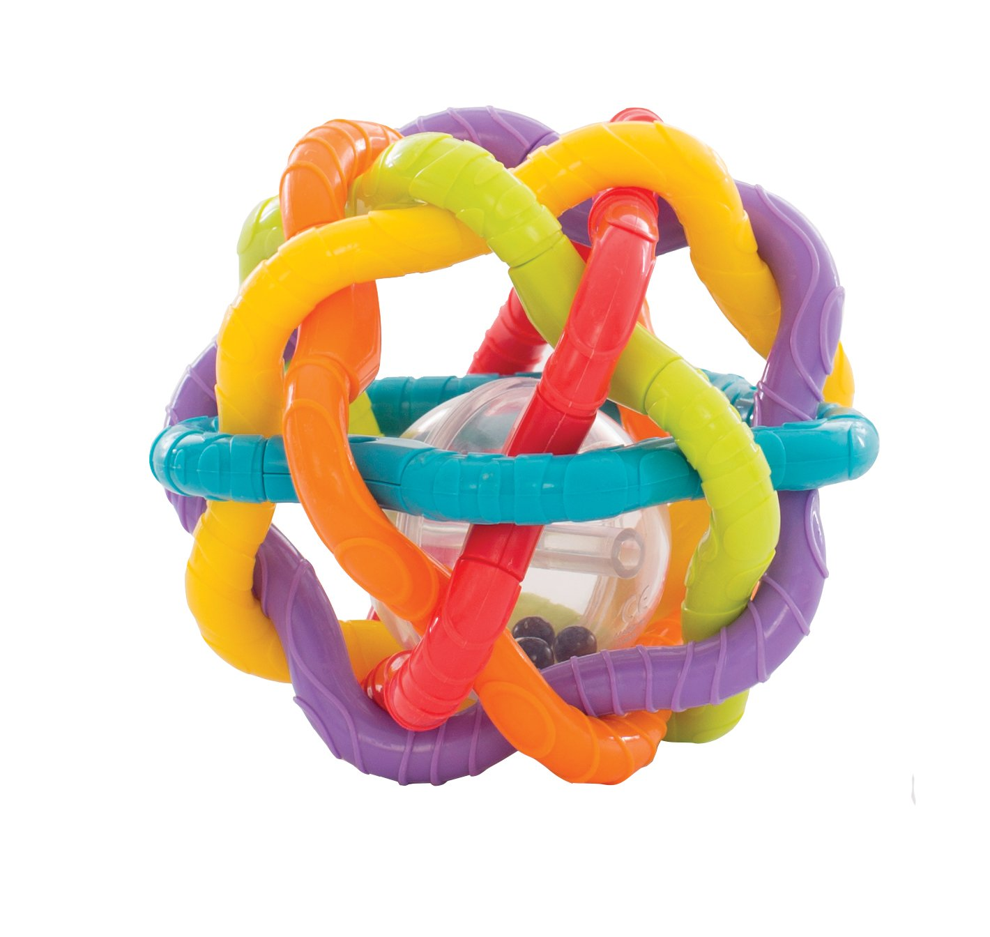 Playgro 40133Rattle/Bendy Ball, Multi-Colour 0184557