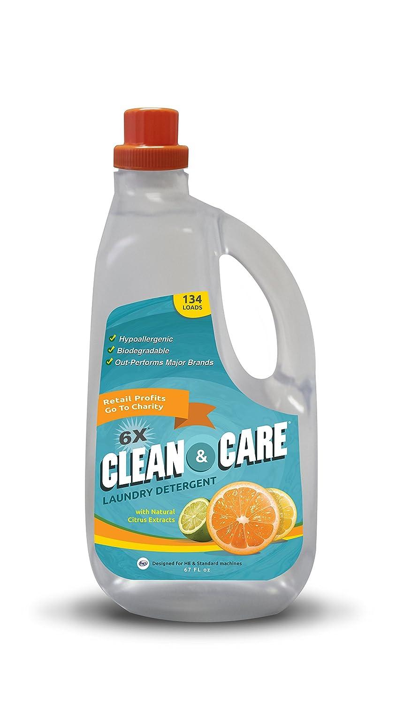 Clean & Care Besway detergente de lavandería hipoalergénico ...