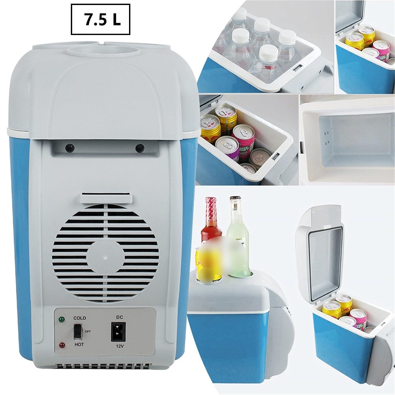 Denshine 7.5L Portable Car Refrigerator Cooler Warmer Freezer 12V Mini Warming and Cooling Vehicle Fridge - USA Shipping