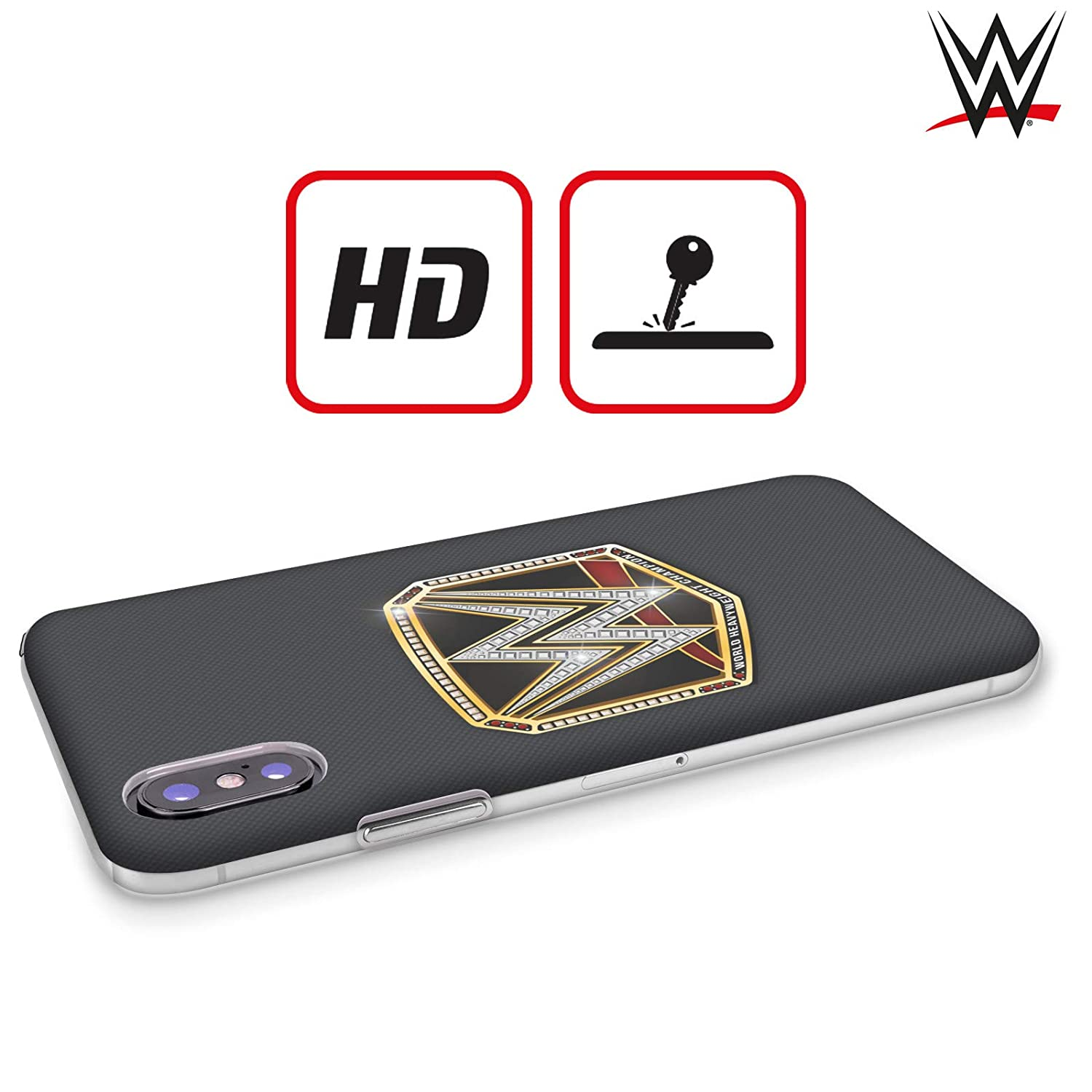 Official WWE Universal Champion Title Belts Hard Back Case Compatible for iPhone 7 Plus//iPhone 8 Plus