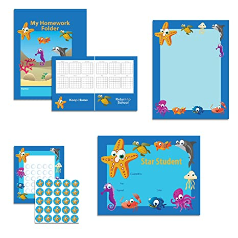 Amazon Com Under The Sea Classroom Theme Set Student