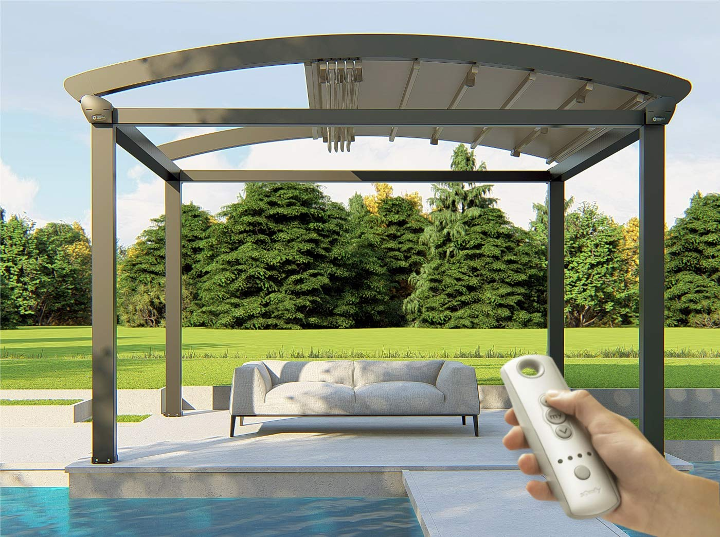 automated retractable awning