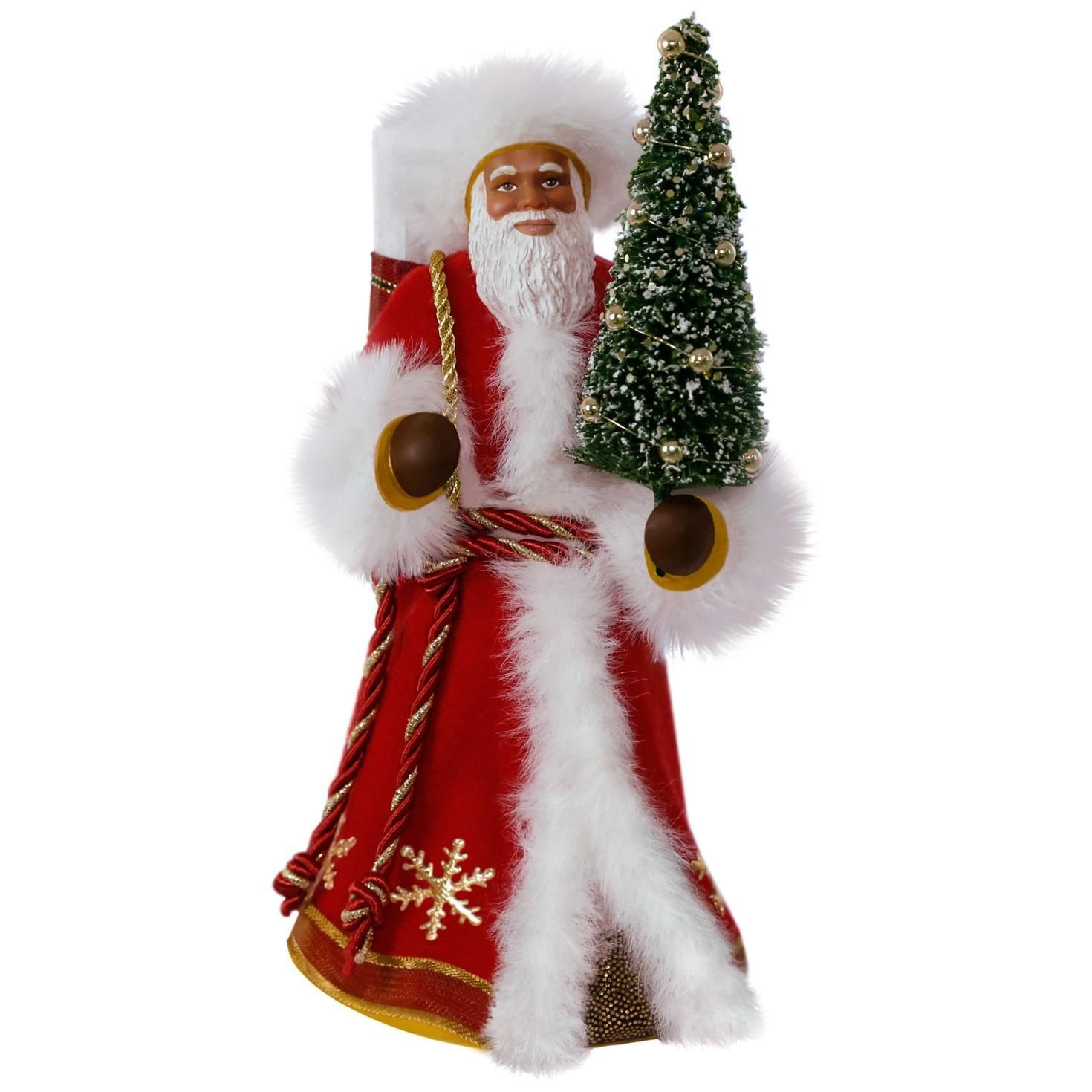 African-American Father Christmas Santa Claus