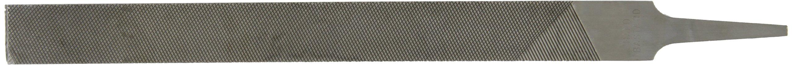 Nicholson Hand File, American Pattern, Double Cut, Rectangular, Coarse, 12'' Length