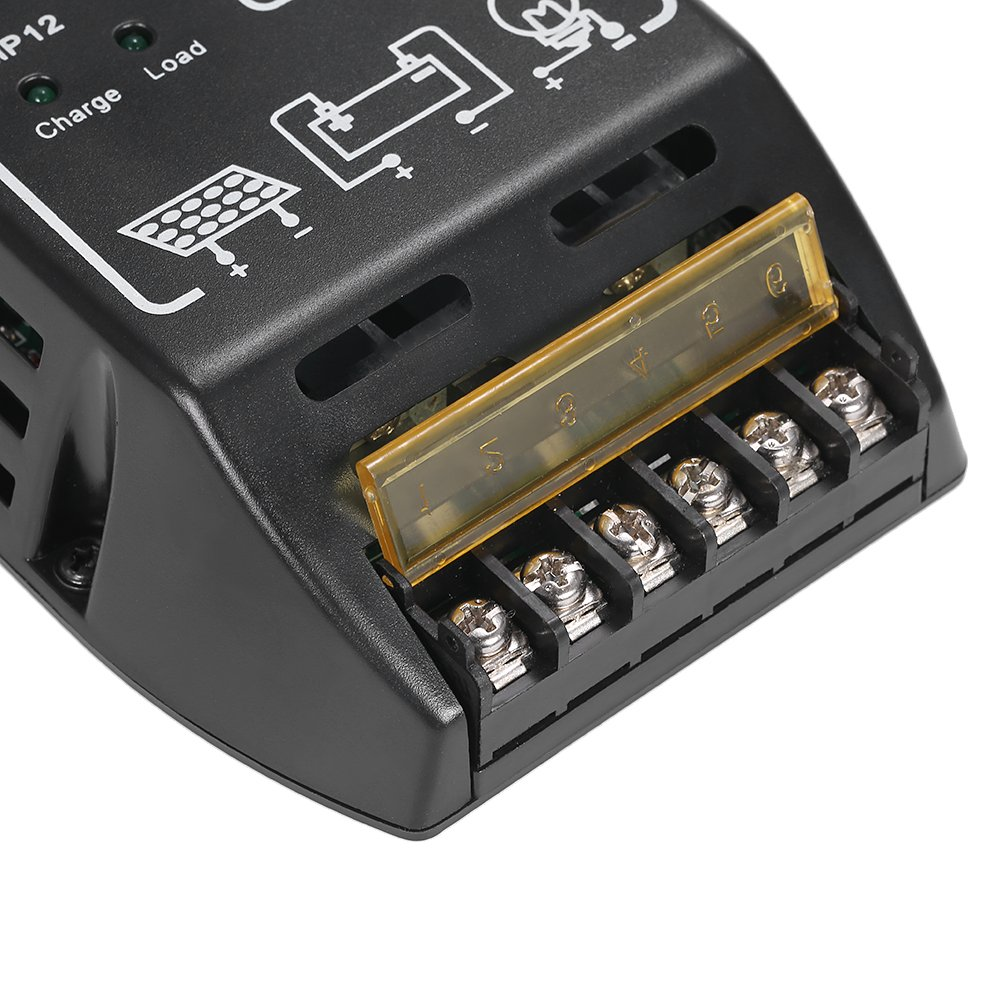 11A Anself Solar Charge Controller Charging Regulator for Solar Panel Battery Overload Protection