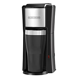 BLACK+DECKER Single Serve Coffeemaker, Black, CM618