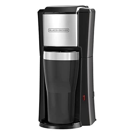 Amazoncom Blackdecker Single Serve Coffeemaker Black Cm618