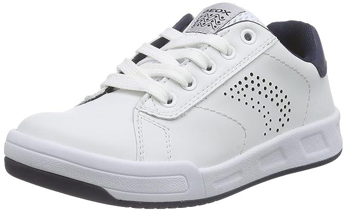 Geox Rolk D, Sneakers Basses Garçon, Bleu (C0948), 32 EU