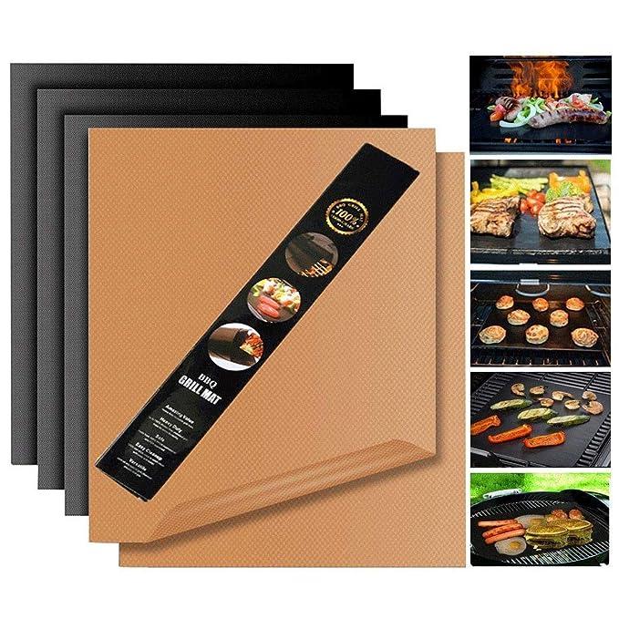 Review Miroksh Copper Grill Mat,Non