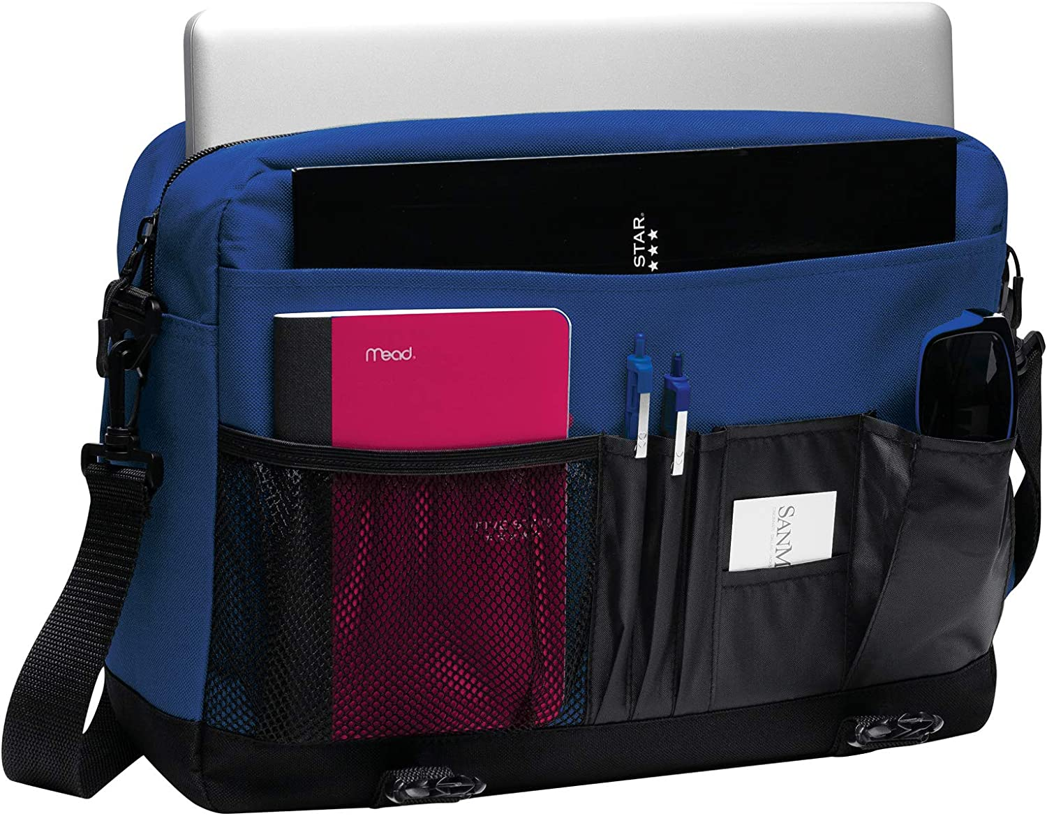 Personalized Customized Messenger Laptop Briefcase for Men /& Women Add Your Embroidered Logo