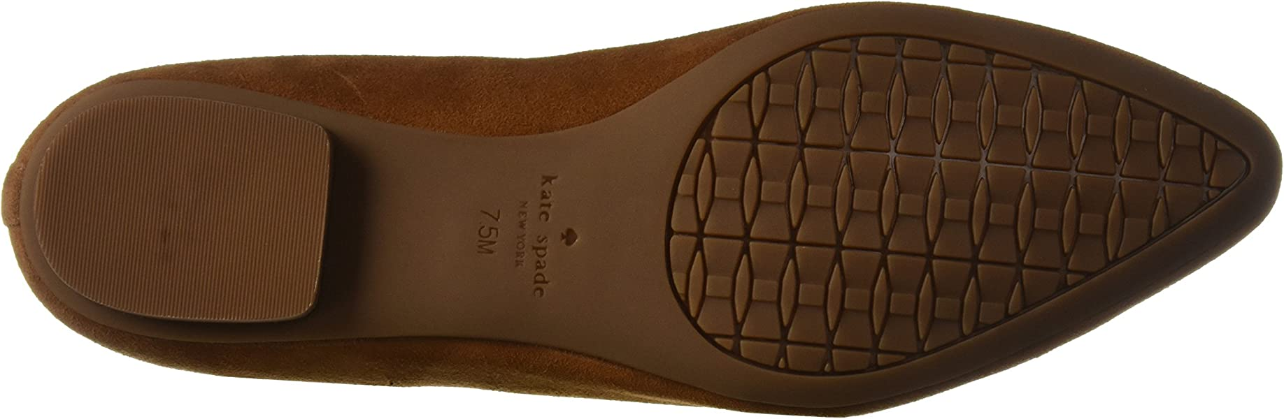 38bf70b23ad8 Kate Spade New York Women s Nicole Too Ballet Flat Tobacco 6 M US. Back.  Double-tap to zoom