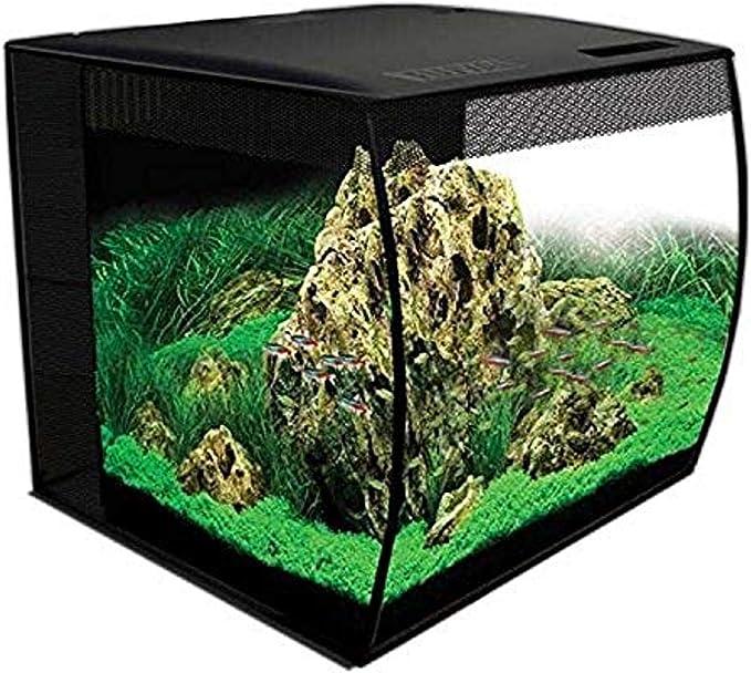Amazon Com Hagen Hg Fluval Flex Aquarium 57l 15gal Black Pet Supplies