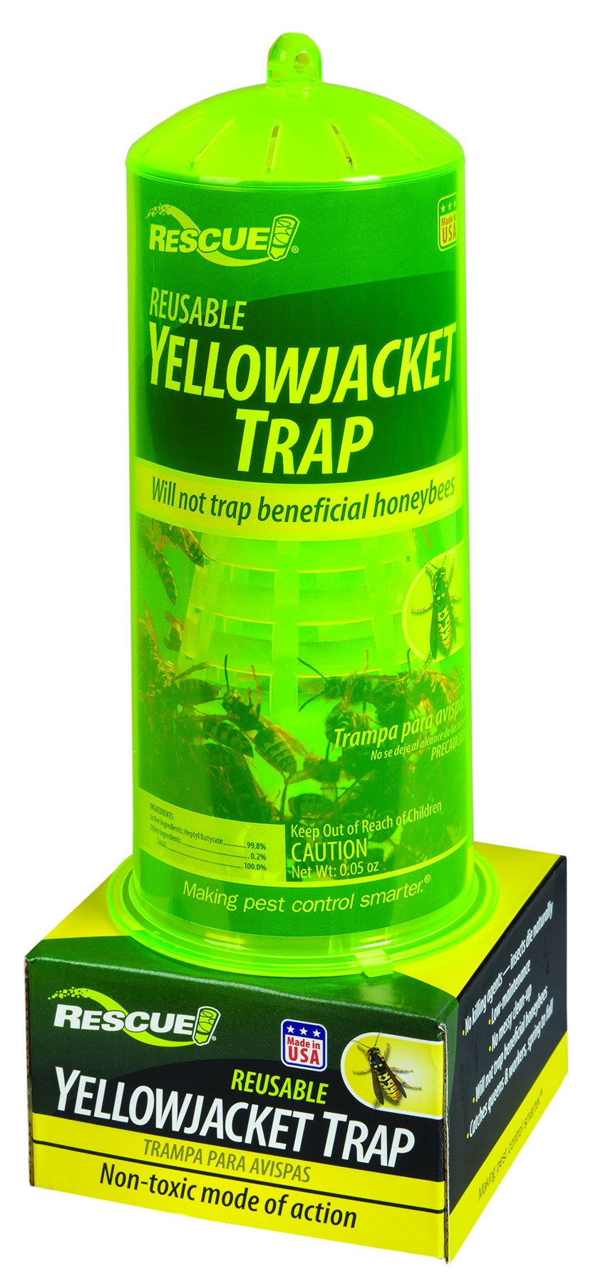 RESCUE! Non-Toxic Reusable Trap Yellowjackets