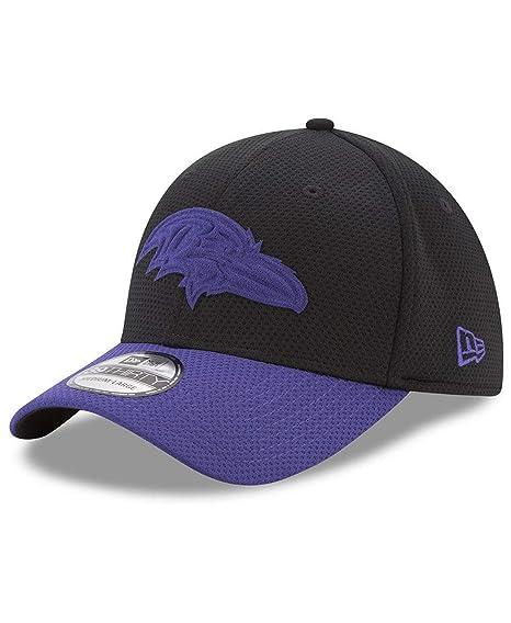 low priced 7725a fe7c9 New Era NFL Baltimore Ravens Adult Men Logo Surge 39Thirty Stretch Fit  Cap,Med
