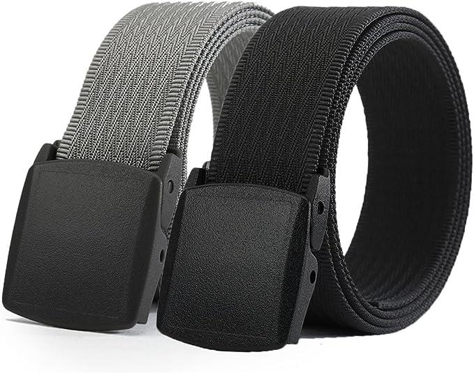 "Men/'s Made in the USA New Navy Blue Nylon Fabric Web Belt 1.25/"" X 42/"""