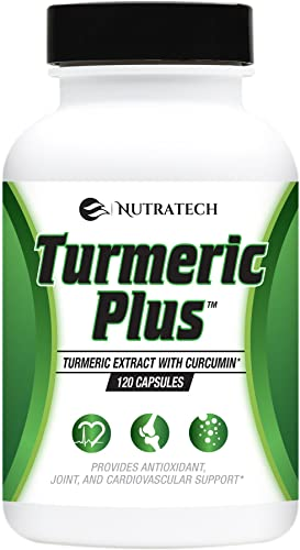 Turmeric Plus 120 Capsules -Turmeric Curcumin 95 with Bioperine Black Pepper Extract for Maximum Absorption. Strongest Potency of 2,000mg per Day. Powerful Anti-Oxidant and Anti-Inflammatory Support.