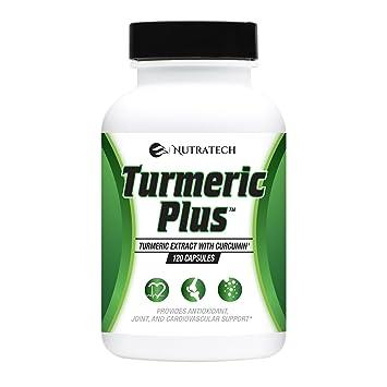 Nutratech's Turmeric Plus with curcuminoids