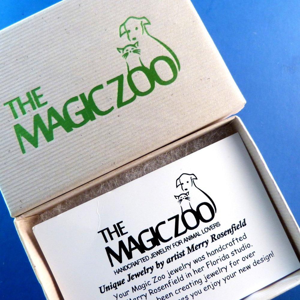 The Magic Zoo Enamel Red Sea Horse Pin