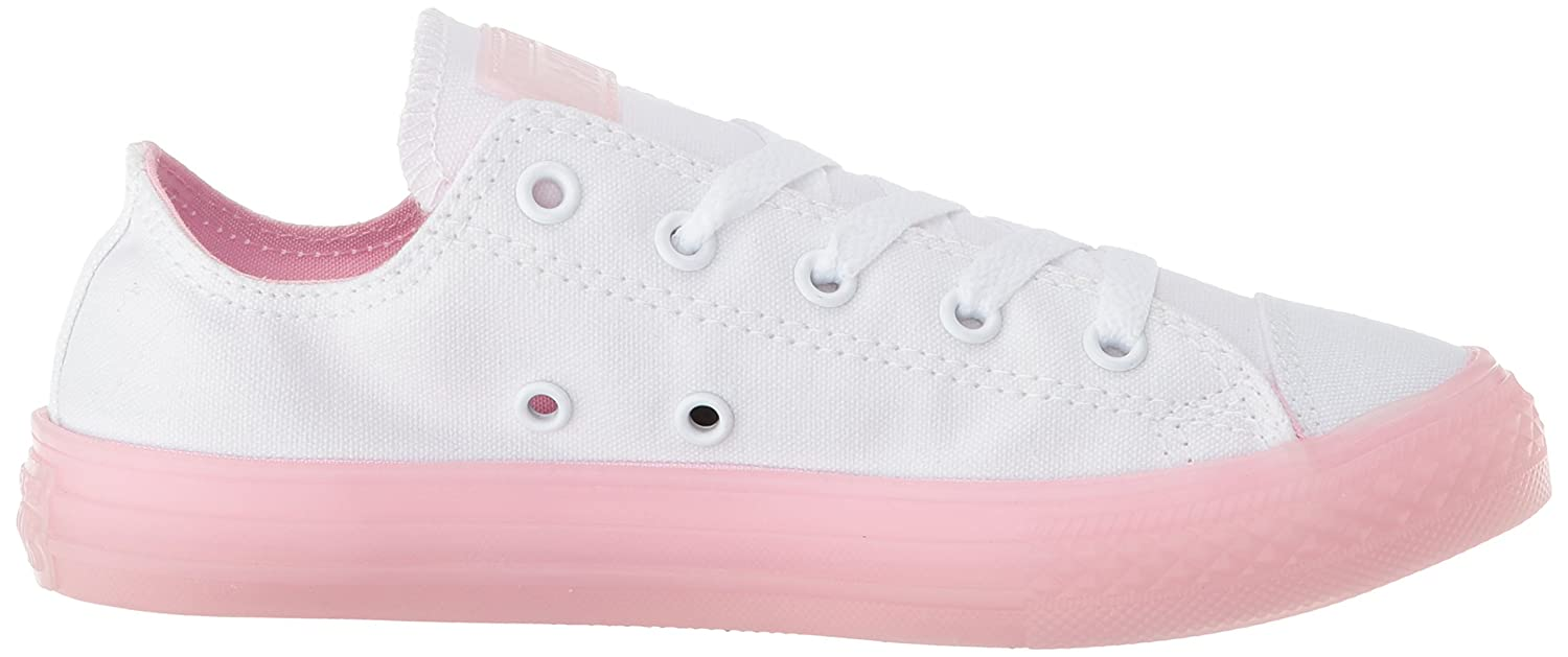 1977020390a Converse Unisex Kids  CTAS Ox White Cherry Blossom Trainers  Amazon.co.uk   Shoes   Bags