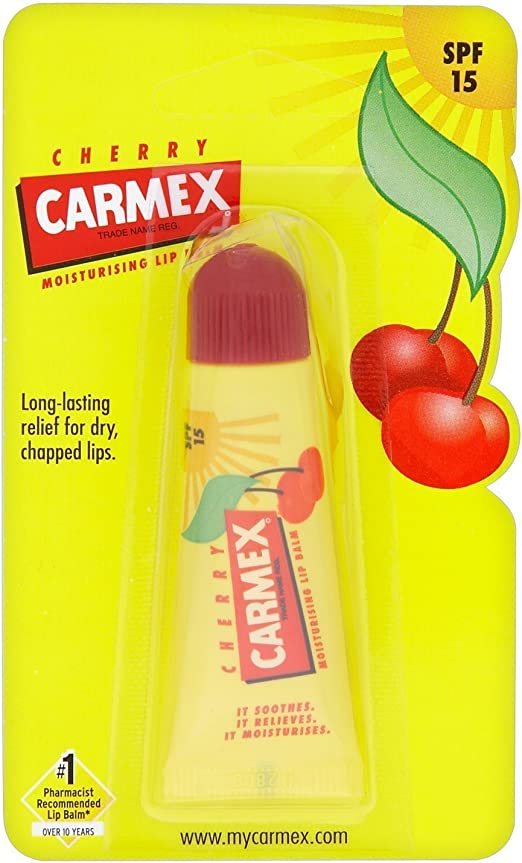 Carmex SPF15 Cherry Lip Balm Tube 10g: Amazon.es: Belleza