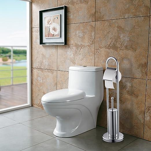 31 opinioni per BONADE Scopini e Porta Scopini WC con Portarotolo per il bagno in Acciaio Inox
