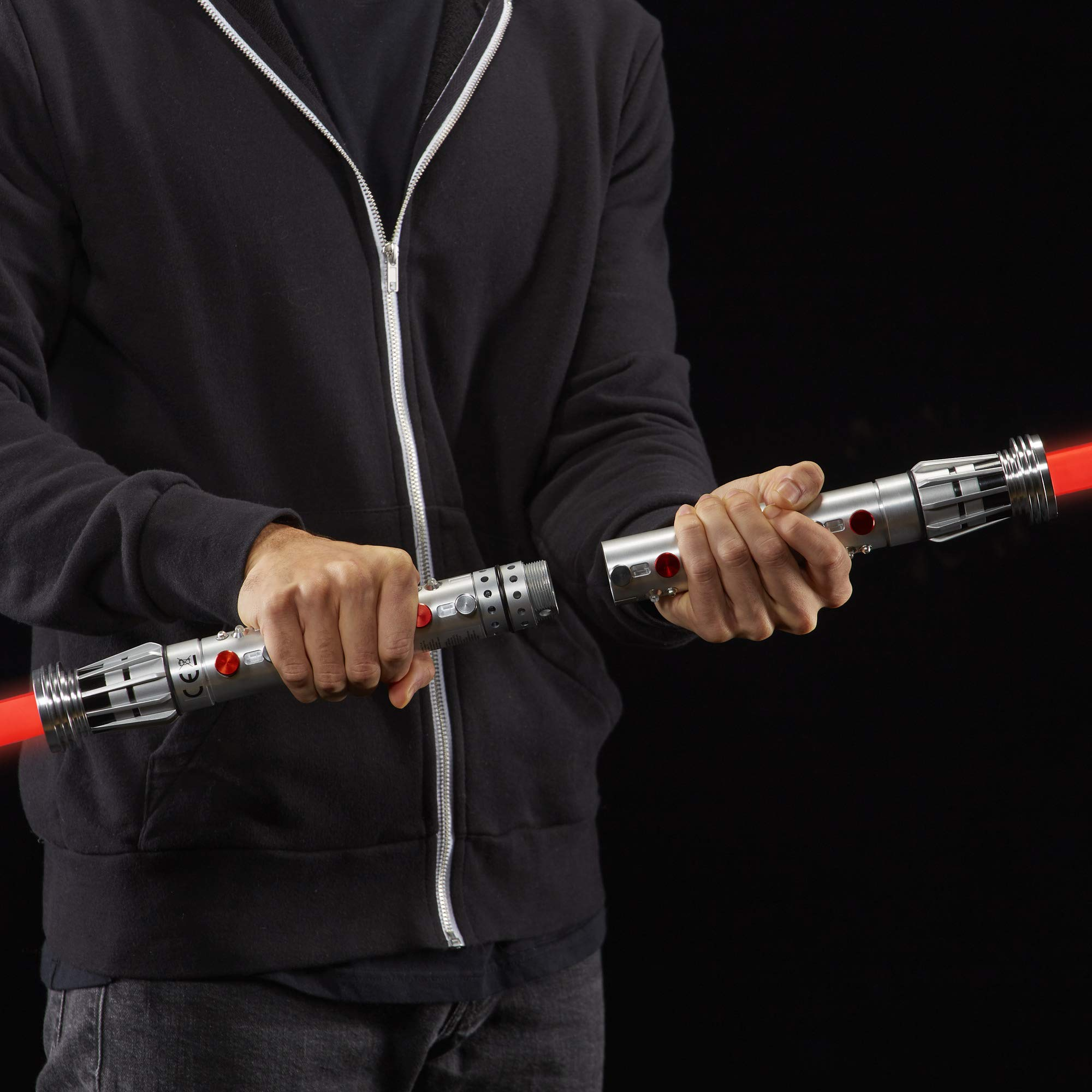 Star Wars The Black Series Darth Maul Ep1 Force FX Lightsaber Toy by Star Wars (Image #6)