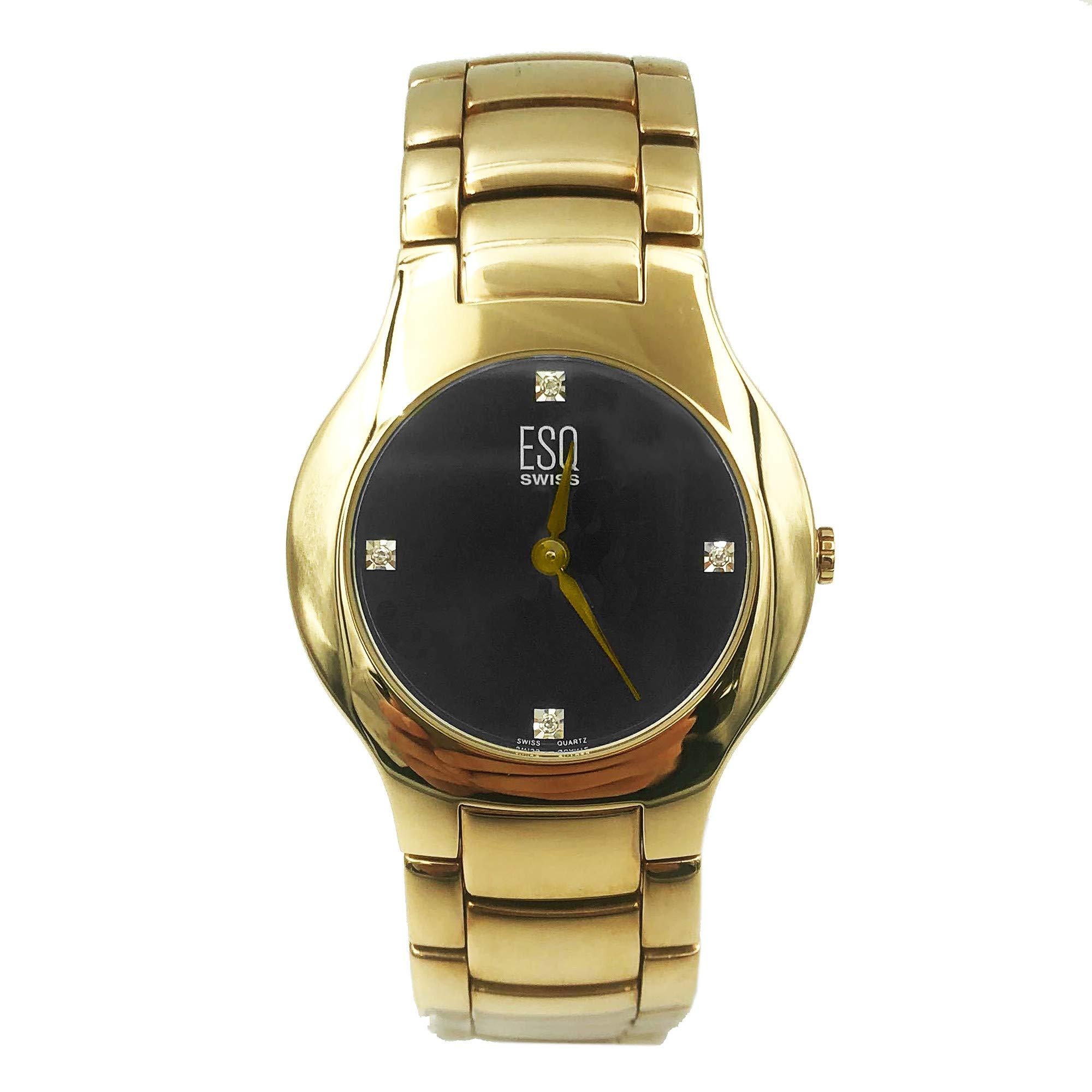 ESQ Verve Quartz Male Watch 07301190 (Certified Pre-Owned) by ESQ