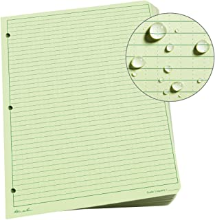 "product image for Rite in the Rain All-Weather Loose Leaf Paper, 8 1/2"" x 11"", 32# Green, Universal Pattern, 100 Sheet Pack (No. 982-MX)"