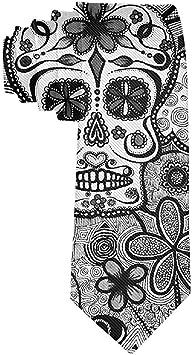 Cravate tête de mort 5