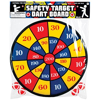 Fabric Dart Board Set: Toys & Games
