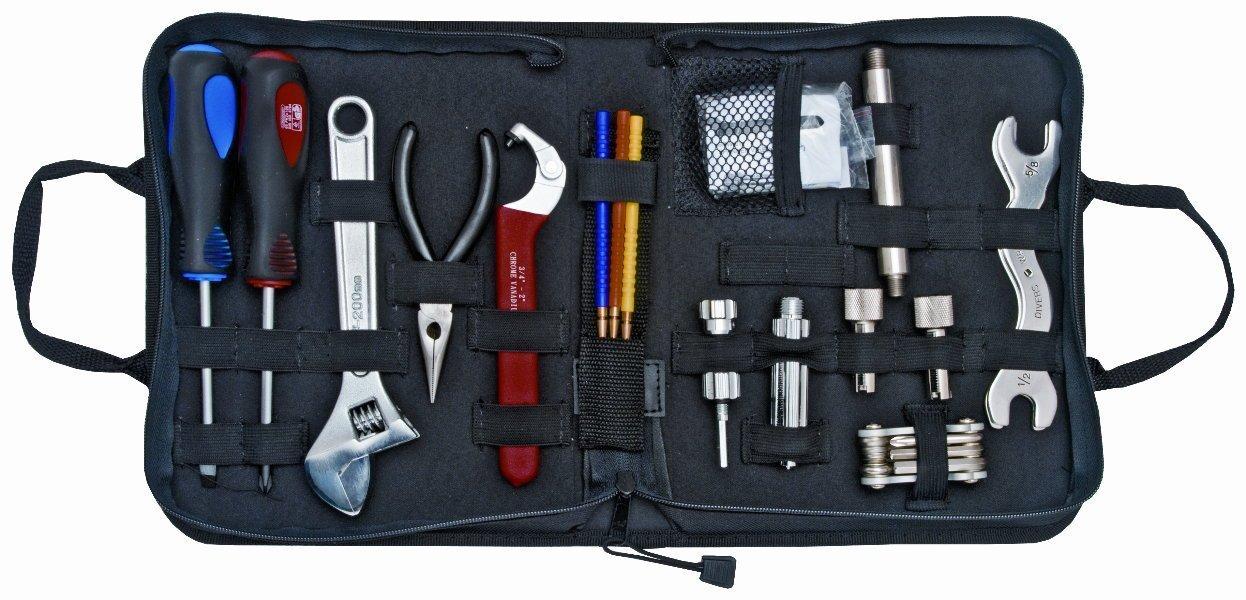 New 65 Piece Professional Diver Tool & Repair Kit for Repairing & Adjusting Scuba Diving Regulators