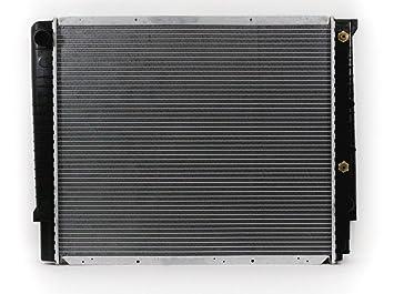 Radiador Refrigeración acoplamiento directo para/fit 1871 92 - 95 Volvo 940 con Turbo 2.0/2.3L Depósito de plástico núcleo de aluminio: Amazon.es: Coche y ...