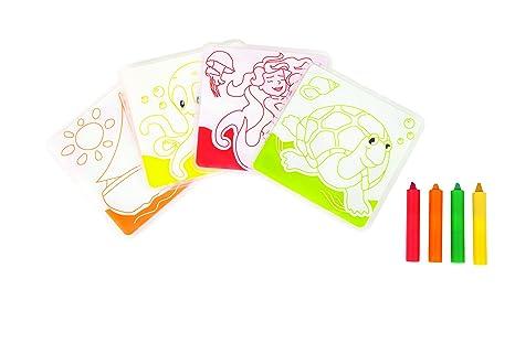 Coloriage Bain Bebe.Babysun Carte De Bain A Colorier Amazon Fr Bebes Puericulture