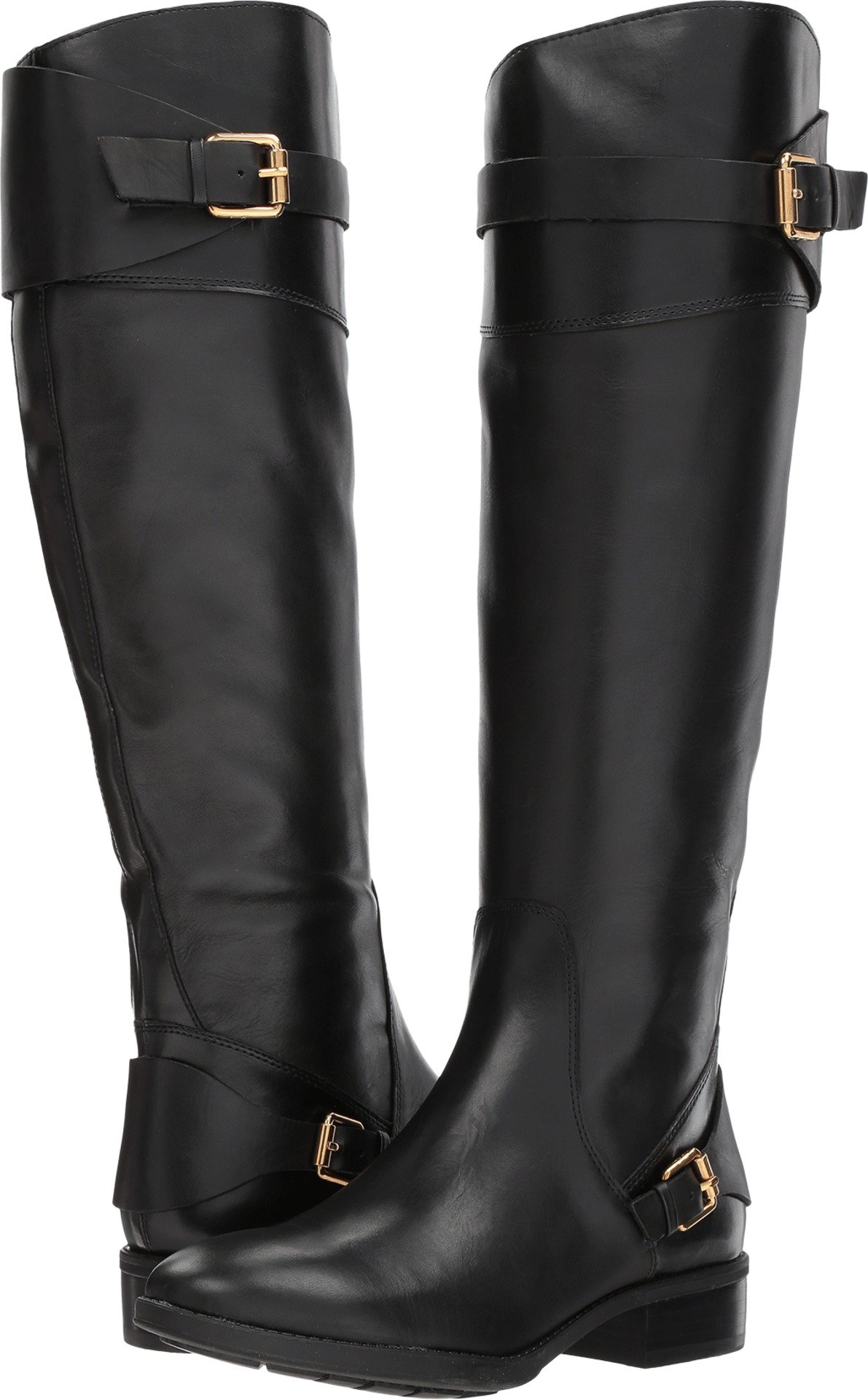Sam Edelman Women's Portman Knee High Boot, Black, 8.5 Medium US