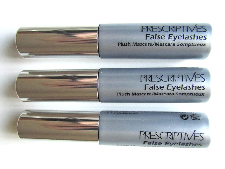 Amazon Set Of 3 Prescriptives False Eyelashes Plush Mascara