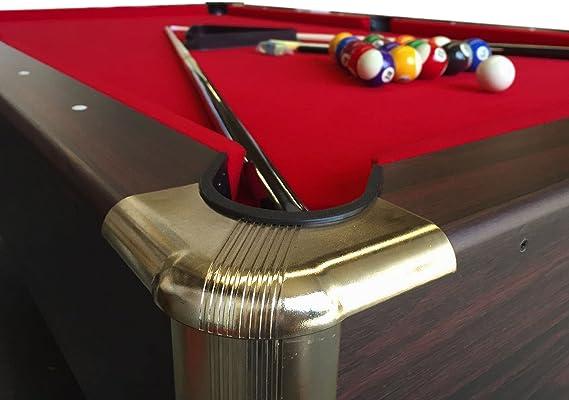 Mesa de billar juegos de billar pool 7 ft carambola con monedero electrónico Ares - Medición de 188 x 94 cm: Amazon ...