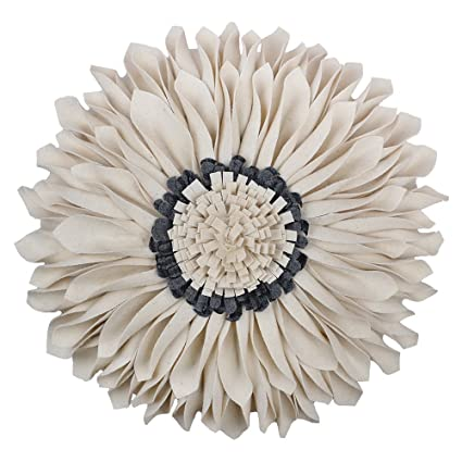 Amazon KingRose 40D Handmade Sunflower Round Decorative Accent Delectable Round Decorative Bed Pillows