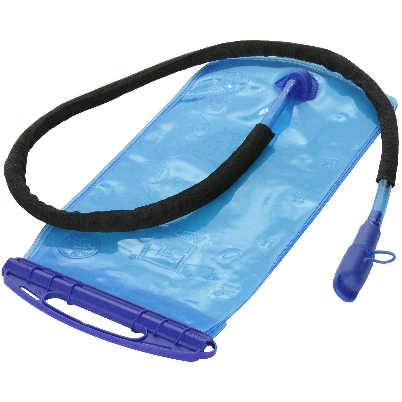 Bolsa de agua - AOTU 2L PEVA ancha boca de la vejiga de hidratacion bolsa de agua para los deportes que va de excursion que sube de bicicletas Mochila portatil SHOMPFL087