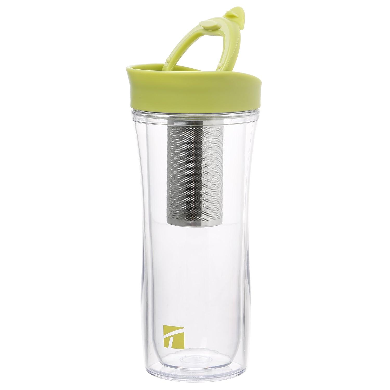 415/ml avec filtre à thé amovible 415ml SET0471500TRUD avec filtre /à th/é amovible Trudeau Maison Tasse /à th/é /étanche de voyage
