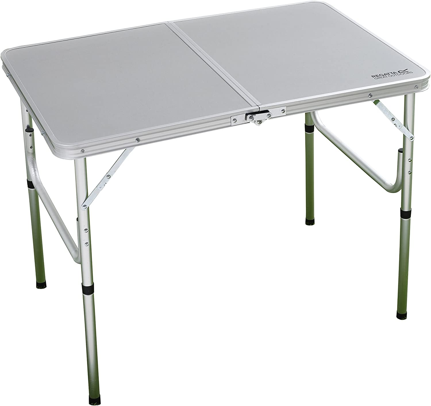 Regatta RCE039 7MZ Table de Camping Mixte Adulte, Lead Grey