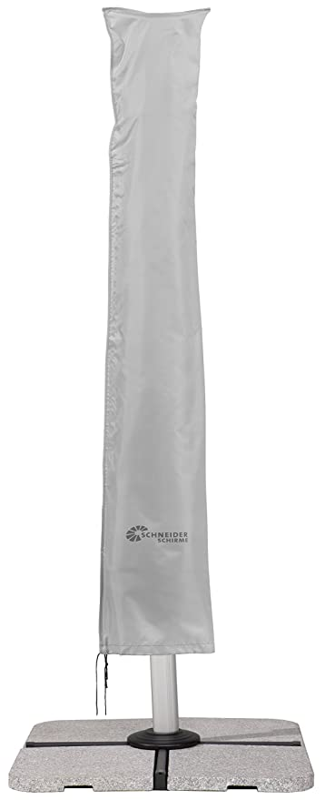 Amazon De Schneider Schutzhulle Fur Ampelschirme Silbergrau Bis