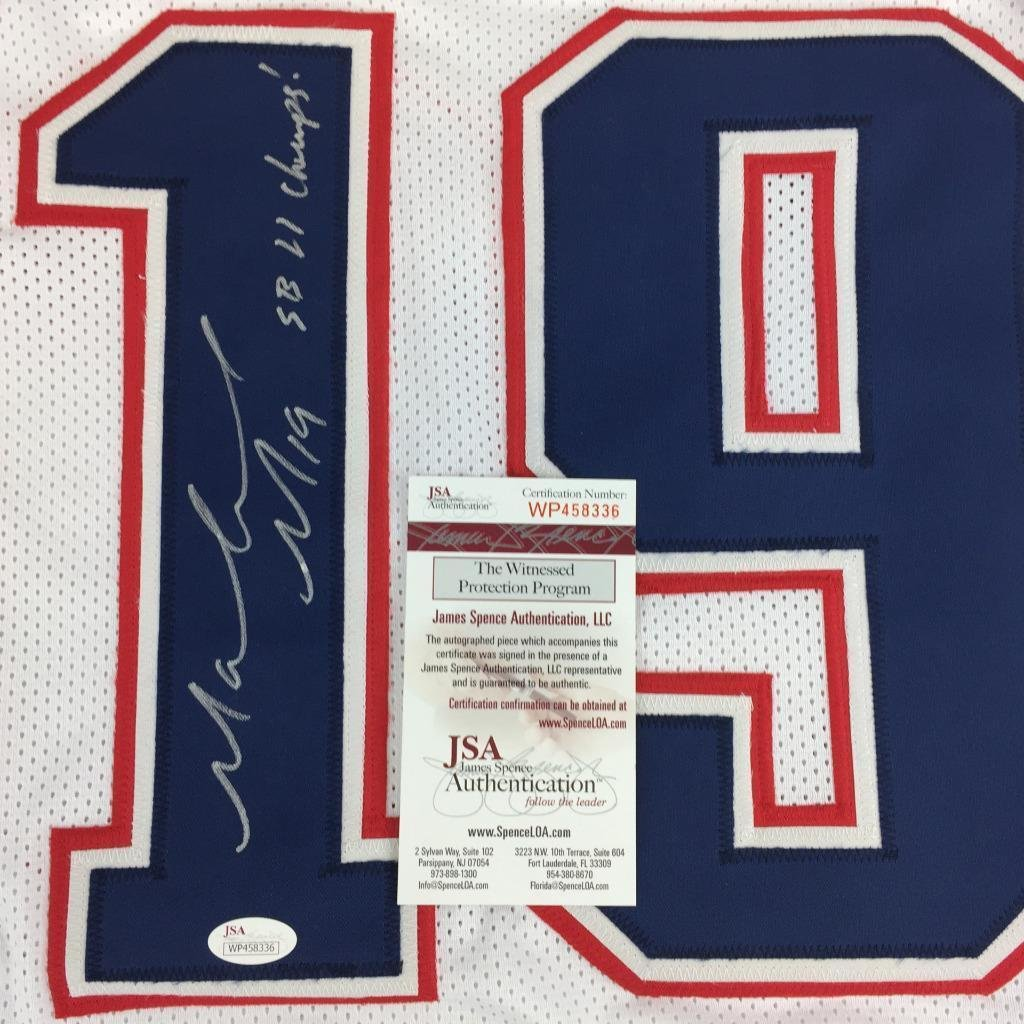 d7012726cf7 Malcolm Mitchell signed SB 51 Champs autographed wh jersey Jsa coa Patriots  at Amazon's Sports Collectibles Store
