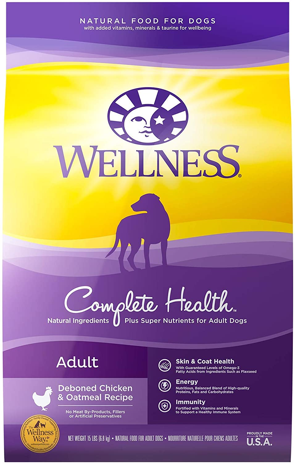 Wellness Complete Health Grained Dry Dog Food