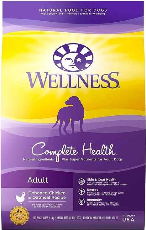 Wellness Natural Pet Food Complete Health Natural Dry Dog Food
