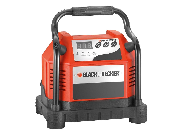 Black+Decker Coche Cargador de batería con diagnóstico ...