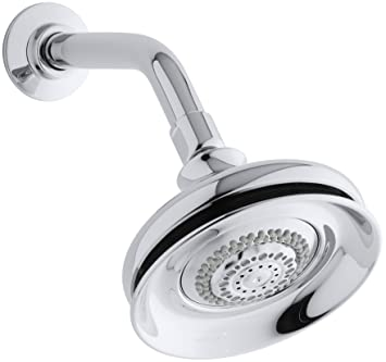 Kohler K-12009-CP Fairfax Multifunction Showerhead, Polished ...