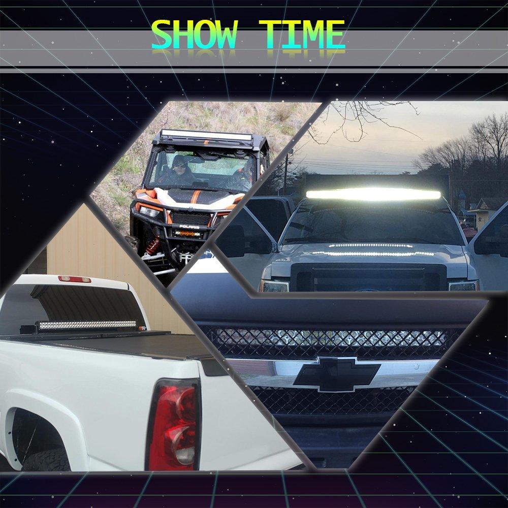 42inch Led Light Bar 4 18w Pods Wiring Harness Kit Fit Polaris Sale 10pcs Universal Off Road Jeep Polarisfordjeep Utv